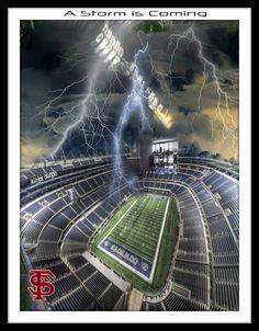 A storm is coming! Go Noles! #FSU