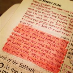 ❣~Matthew 11:28 this was read at my grandma.s funeral and has stayed with me ever since... <3