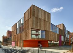 Gallery of 'Simone Veil' Group of Schools in Colombes / Dominique Coulon & associés - 5