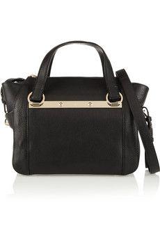 Chloé Bridget mini textured-leather shoulder bag | NET-A-PORTER