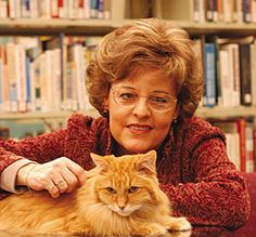 Famous Iowa library cat named Dewey - the movie will star Meryl Streep. Read the book over the summer, it was pretty good.