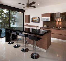 Casa GM: Cocinas de estilo moderno por GLR Arquitectos