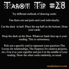 Randi Minerva | ★ Tarot Tips for the 21st Century Witch ★ | Page 2