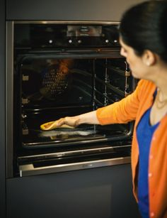 The Pyrolytic cleaning feature of new Neff ovens makes even the worst of messes easy to clean up.