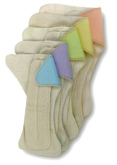 great article on the different types of cloth diapers