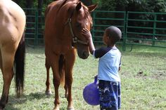 Horsemanship program at The Mustard Seed farm
