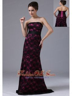 Buy burgundy prom dress in black lace with tie up back and sash from burgundy prom dresses collection, strapless neckline column/sheath in color,cheap lace dress with lace up and brush train for prom formal evening celebrity . Girls Pageant Dresses, Designer Prom Dresses, Prom Dresses Online, Prom Party Dresses, Dresses 2013, Graduation Dresses, Prom Gowns, Quinceanera Dresses, Maxi Dresses