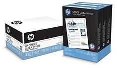 HP Paper, Office Ultra White, 20lb, 8.5×11, 92 Bright, 1500 Sheets / 3 Ream Case, CIE Whiteness 155, Made in The USA #deals