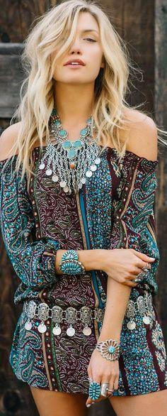 Bohemian jewelry sty