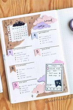 Bullet Journal Lettering Ideas, Bullet Journal Banner, Bullet Journal Notebook, Bullet Journal Ideas Pages, Bullet Journal Layout, Bullet Journal Inspiration, Journal Pages, Journal Prompts, Journal Covers