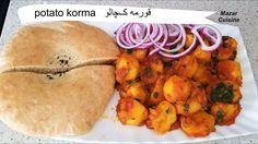 Afghani Korma ,Qorma Kachaloo Recipe,Potato Curry Sabzi Recipe,Spicy Pot...