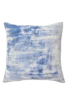 Free shipping and returns on Blissliving Home 'Cielo' Pillow at Nordstrom.com. A softly tie-dyed blend of bright white and light blue mimics sunny skies marked with fluffy clouds atop a soft velvet pillow inspired by the rich colors and culture of Mexico City.
