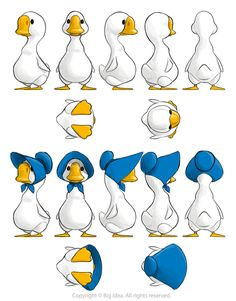 Mother Goose Character Design for VeggieTales