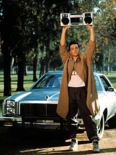 Lloyd Dobler is the perfect guy Movies Showing, Movies And Tv Shows, Romantic Movie Quotes, Romantic Moments, Romantic Movie Scenes, Romantic Things, I Love Cinema, Romantic Gestures, My Funny Valentine