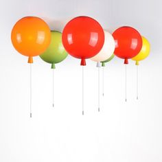 Story Colourful Balloon Flush Ceiling Light Single Lamp - Flush Ceiling Lights - Ceiling Lights - Lighting