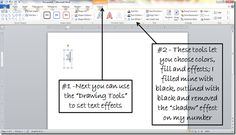 How to make mirror image text in Microsoft Word (07' or 10')