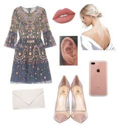 """Başlıksız #22"" by elif-buglem-akyol on Polyvore featuring moda, Needle & Thread, Semilla, ASOS, Belkin ve Lime Crime"