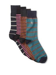 Original Penguin Men's Multi-Patterned Socks - 4 Pack, http://www.myhabit.com/redirect/ref=qd_sw_dp_pi_li?url=http%3A%2F%2Fwww.myhabit.com%2Fdp%2FB00HLESQ1S