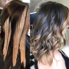 Pin by Kasey Roberts on Hair in 2019 – – Balayage Hair Cabelo Ombre Hair, Balayage Hair Blonde, Balayage Diy, Diy Balayage At Home, Subtle Balayage Brunette, How To Bayalage Hair, Balayage Hair Tutorial, Balayage Technique, Hair Color Formulas