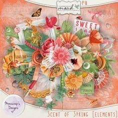 Scent of spring by Caro Moosscrap to My Scrap Art Digital https://www.myscrapartdigital.com/shop/oh-la-la-week-18-c-40/scent-of-spring-cupc...