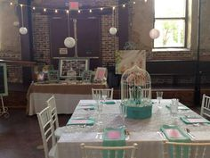 Vintage/shabby Chic inspired Wedding design Wilmington Wedding Planning and Design by: Port City Event Planners