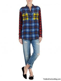 2013-2014 Plaid Trend: Tartan Clothes and Accessories