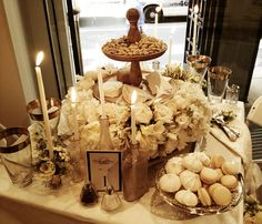 Diner en Blanc preview party | Flickr - Photo Sharing! Winning tablescape.