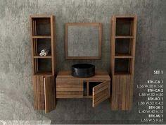 Mobili Bagno in legno Massello Lavandini Pietra e Marmo - www.giallosun.com Mobili Etnici Arredamento Etnico Letti Etnici