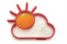 Spiegelei-Form Sunnyside, Frühstück, Eier, braten, Ausstechform, Pfanne
