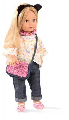 Götz Puppenmanufaktur Puppe Precious Day Jessica blonde Haare 46 cm - Bonuspunkte sammeln, auf Rechnung bestellen, DHL Blitzlieferung