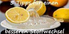 5 Tipps für einen besseren Stoffwechsel