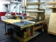 Great workbench + outfeed table combo