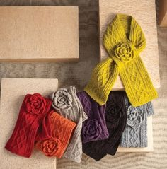 Find these great wrap cable knit scarves at bettergivingbykipling.com