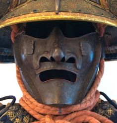 japanese mask & armor!