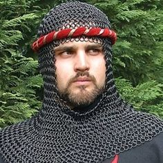 Blackened Steel Coif 26-300076 - Buy from By The Sword, Inc.  100