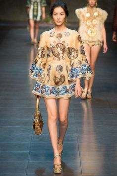 Spring 2014 Ready-to-Wear Dolce & Gabbana