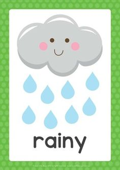 Browse over 160 educational resources created by Natural Little Learners in the official Teachers Pay Teachers store. Weather Kindergarten, Teaching Weather, Weather Vocabulary, Preschool Weather, Weather Activities, Kindergarten Learning, Classroom Calendar, Classroom Posters, Alphabet Activities
