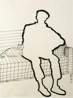 Thunderstruck (Roger Raveel (Belgian, 1921-2013), In de hoek van...)