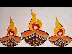 Paper Crafts Origami, Paper Crafts For Kids, Diwali Diva, Apple Clip Art, Cold Porcelain Flowers, Festive Crafts, Diwali Craft, Rangoli Designs Diwali, Indian Crafts