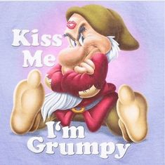 Goofy Disney, Disney Cartoon Characters, Disney Cartoons, Funny Cartoons, Disney Love, Cartoon Art, Grumpy Dwarf, Grumpy Cat, You Funny