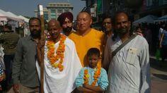 Salfi With Gandhi