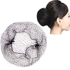 10pcs Hair Nets Wigs Invisible Elastic Edge Mesh Hair Styling Hairnet Soft  Lines for Dancing Sporting 406392cd8854