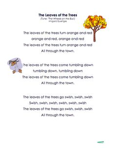 Your collection of Fall songs is here! Your collection of Fall songs is here! Fall Preschool Activities, Preschool Music, Music Activities, Preschool Lessons, Preschool Prep, Teaching Music, Preschool Crafts, Songs For Toddlers, Kids Songs