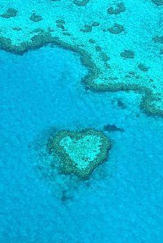 barrier reef.... ITS A HEART =) <3