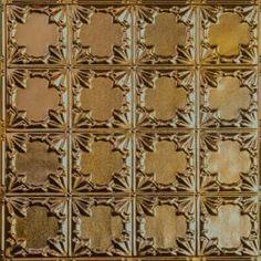 Metallic Gold Metal Ceiling Tile AT 37 #Tin # Ceiling # Drop# Ceiling# Metal #Ceiling #Tin #Tiles #Metallic Gold Metal, Decor, Metal Ceiling, Metal Tins, Gold Ceiling, Tiles, Metal Ceiling Tiles, Ceiling, Metal