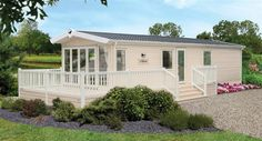 Modern Mobile Home Remodeling Idea - Verwirrend Remodeling Mobile Homes, Home Remodeling, Double Sliding Patio Doors, Small Manufactured Homes, Modern Mobile Homes, Home Repair Services, Mobile Home Parks, Uk Holidays, Park Homes
