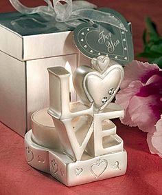 Brilliant LOVE-Design Candleholder
