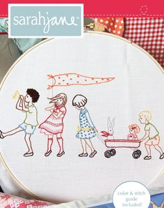 I love embroidery. It's how I started out in sewing at the young age of eight, I think. These vintage patterns are beautiful!