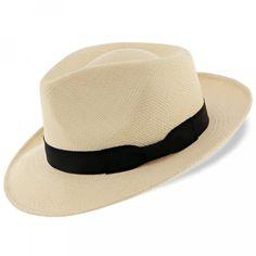 7e0b4f457d022 Retro Panama - Stetson Genuine Panama Fedora Hat - TSRTRO