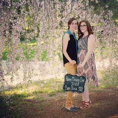 May 10, 2015 - Is there a better day than Mother's Day to tell the world that you have a little one on the way?!?! Congrats to Tara and Mandi.